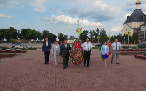 Визит Постоянной комиссии по бюджету и финансам  в город Речица Гомельской области