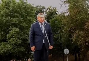 Митинг в Речице 20.08.2020 г.